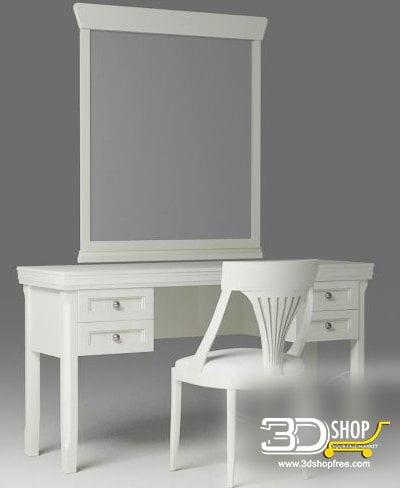 006-3d Models-Furniture-Sideboard & Chest of Drawer
