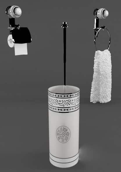 007-3d Models-Bathroom-Accessories