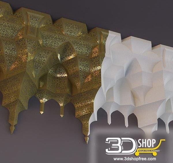 007-3d Models-Decorative Plaster