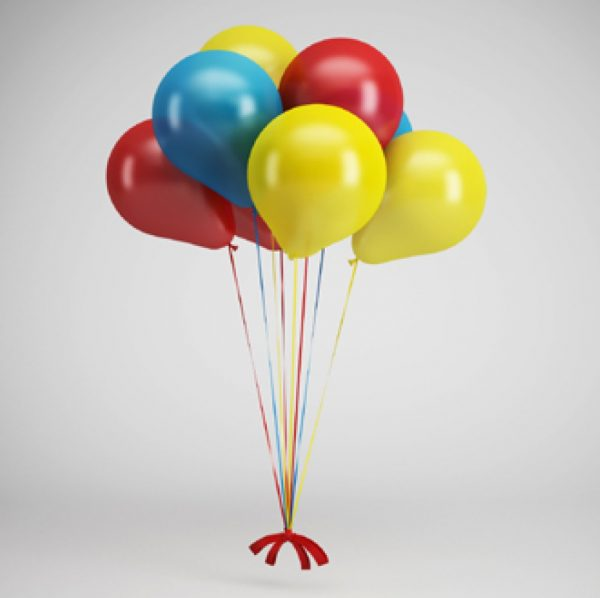 007-3d Models-Party Supplies-Balloons