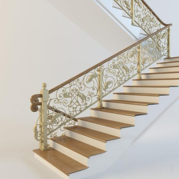 007-3d Models-Staircase