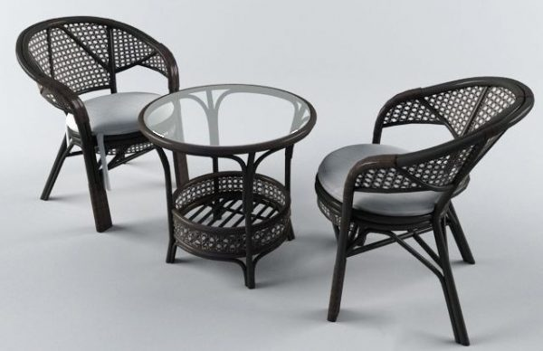 007-3d Models-Tables & Chairs