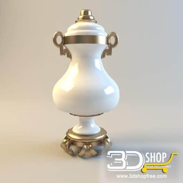 007-3d Models-Vases