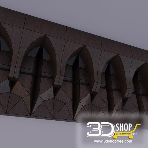 008-3d Models-Decorative Plaster