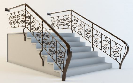 008-3d Models-Staircase