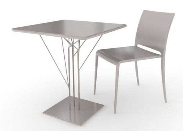 008-3d Models-Tables & Chairs