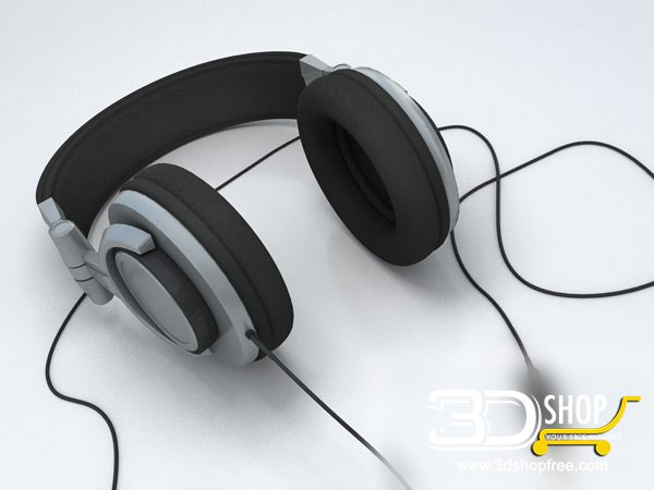 008-3d Models-Technology-Household Appliance-Headphones