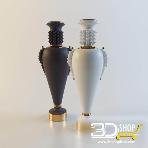 008-3d Models-Vases
