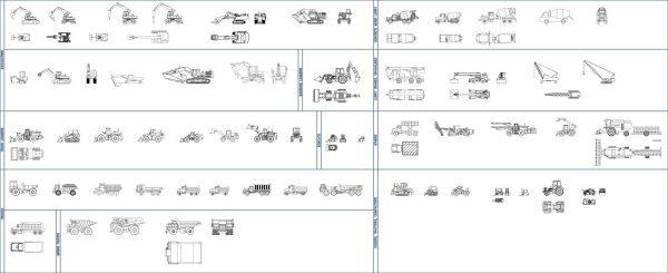 008-Vehicles-Cad-Blocks-Others-Aeroplanes