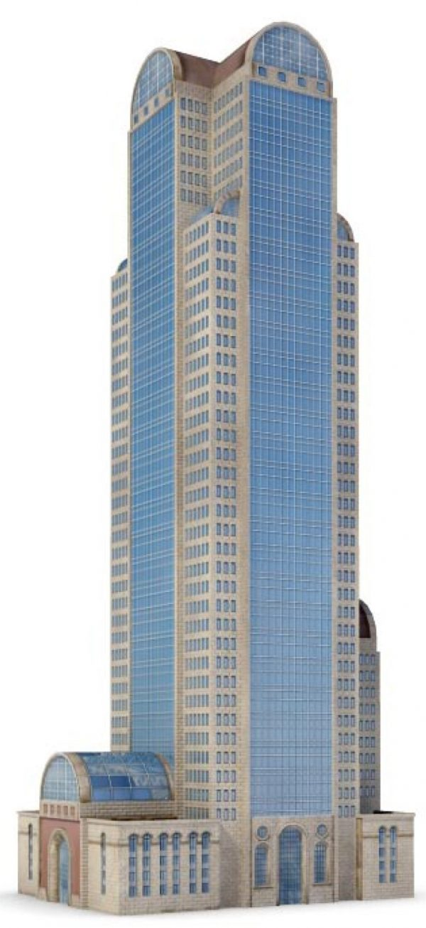 009-3d Models-Buildings & Villas-Tower