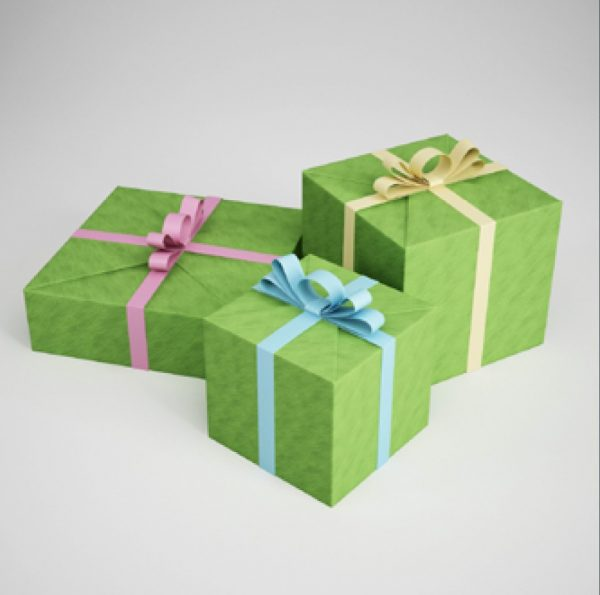 009-3d Models-Party Supplies-Gift Boxes