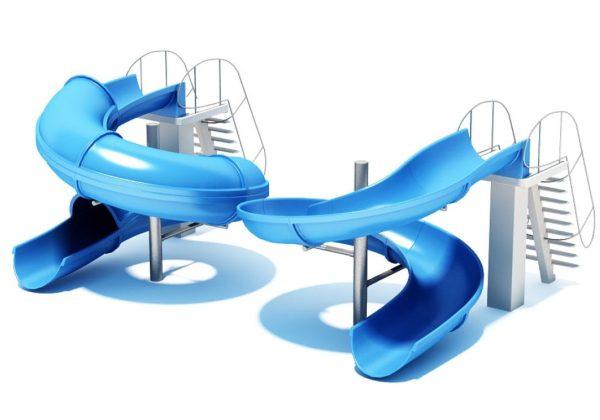 010-3d Models-Children Items-Water Slide