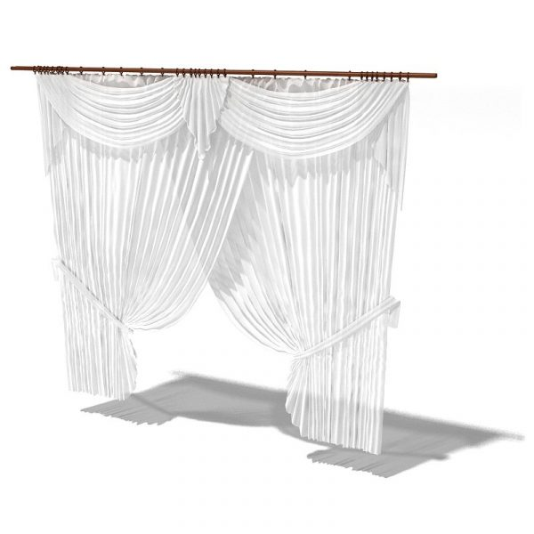 010-3d Models-Curtains