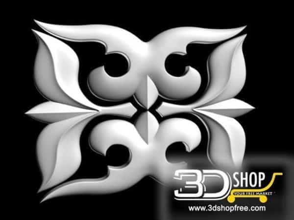 010-3d Models-Decorative Plaster