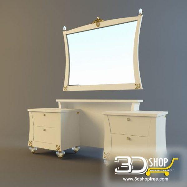 010-3d Models-Furniture-Sideboard & Chest of Drawer