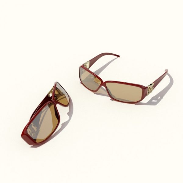014-3d Models-Accessories-Sun-Glasses