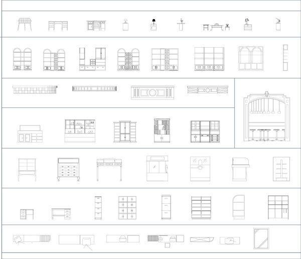 014-Furniture-Cad-Block-Additional Furniture