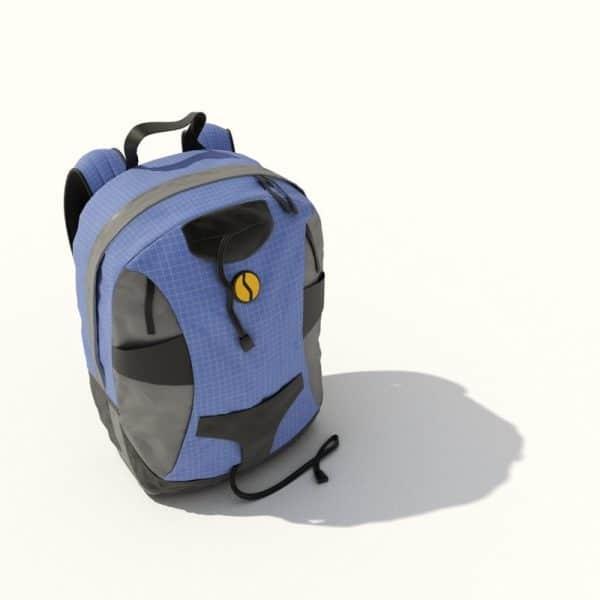 015-3d Models-Suitcases & Bags-Back Bag
