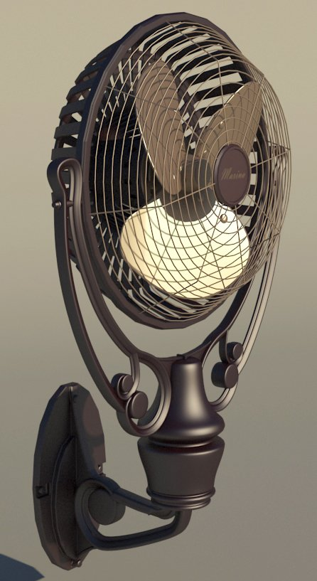 015-3d Models-Technology-Household Appliance-Fan Ventilator