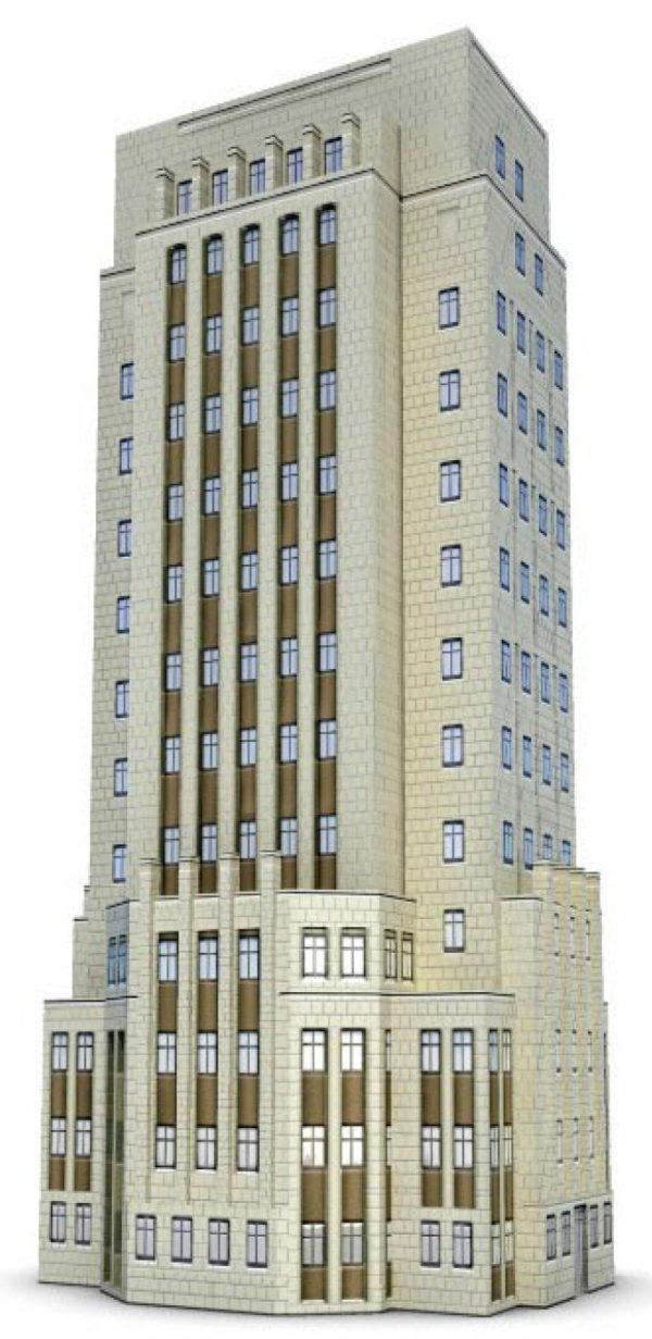 022-3d Models-Buildings & Villas-Tower