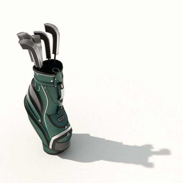 026-3d Models-Suitcases & Bags-Golf Bag