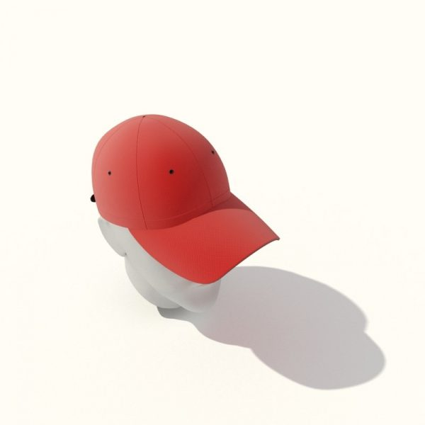 087-3d Models-Clothes-Cap