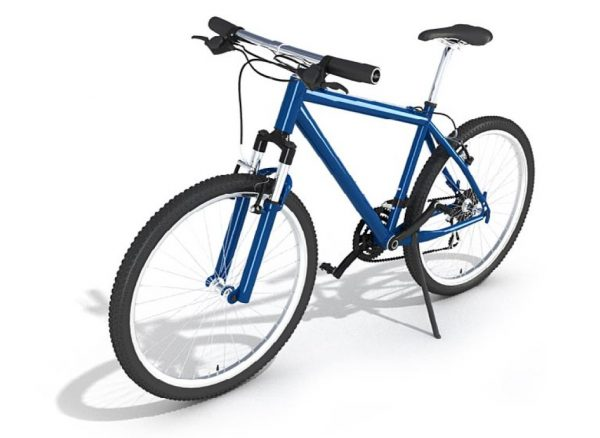 Bicycle 3d Model 001