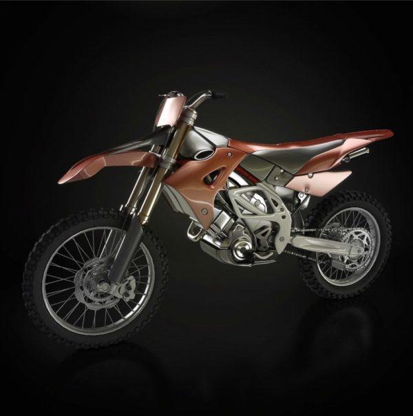 Motorbike 3d Model 001