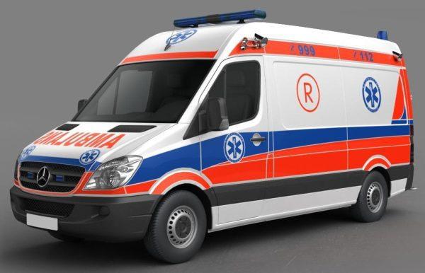 Ambulance 3d Model 001