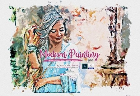 Modern Painting Pro PS Action 4540078 001