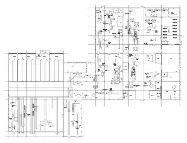 Workshop layout Cad Block 001