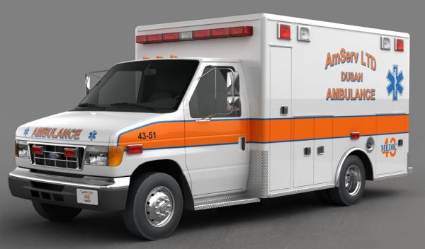 002-3d Models-Vans-Ambulance