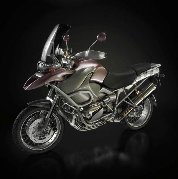 003-3d Models-Motorbikes