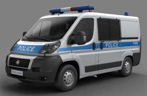 003-3d Models-Vans-Police