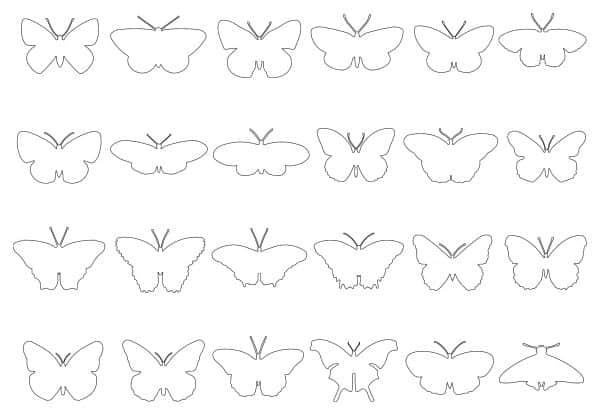 004-Butterflies-Cad-Blocks