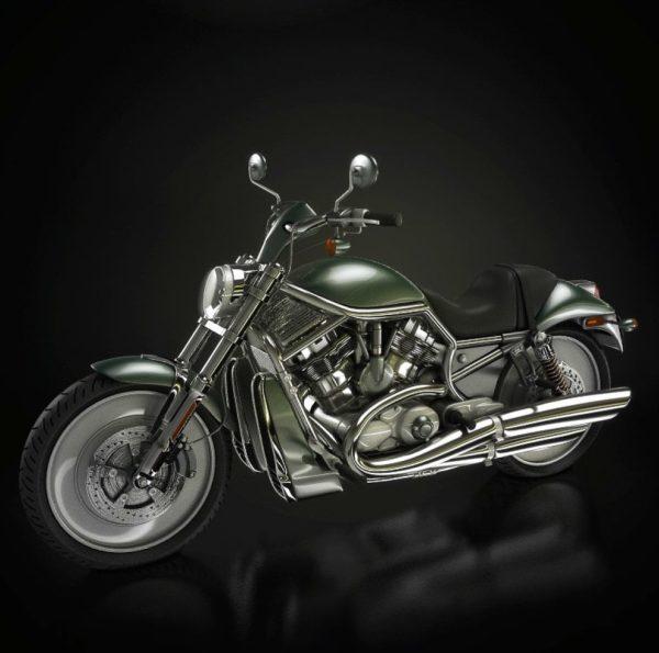005-3d Models-Motorbikes