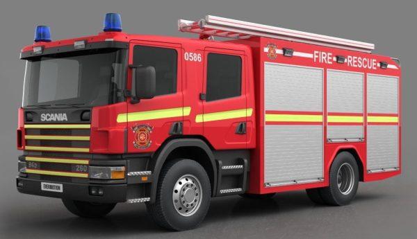 005-3d Models-Vans-Fire