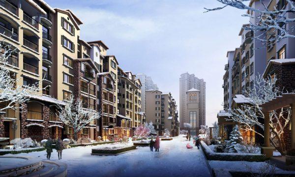 005-Exterior Scenes-Mid-Rise Buildings