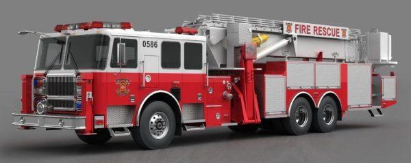 006-3d Models-Vans-Fire