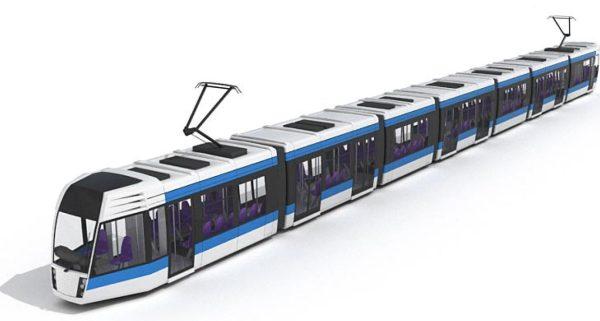 Bus & Tram 3d Model 007