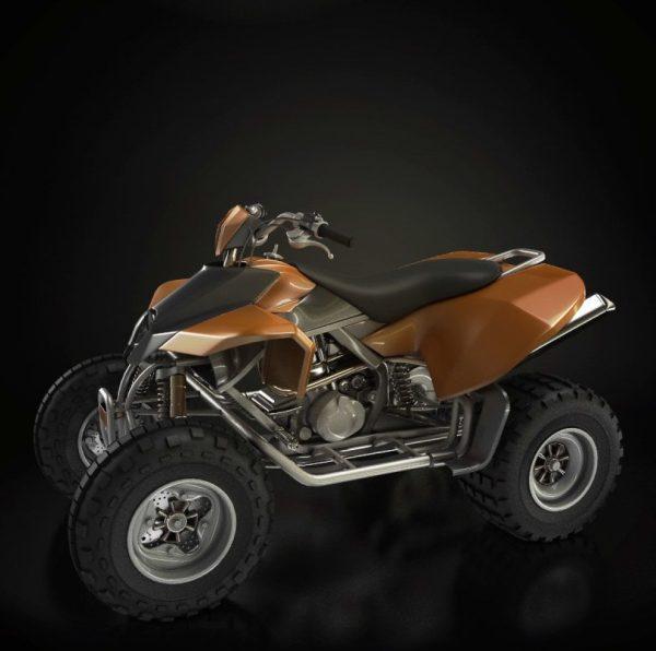 007-3d Models-Motorbikes