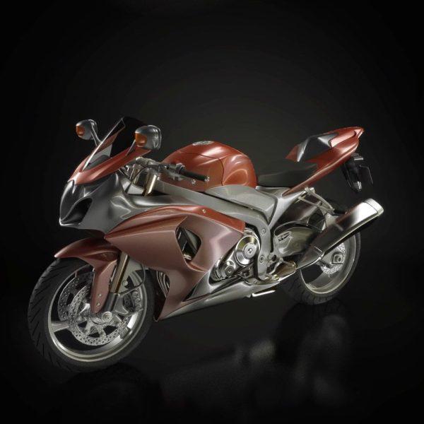 008-3d Models-Motorbikes
