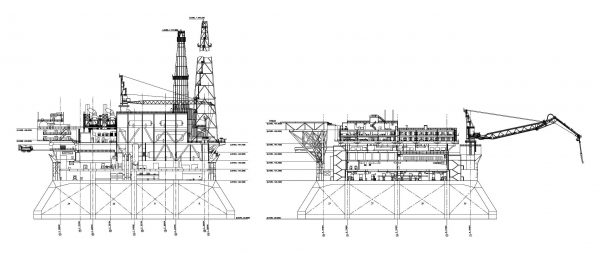 008-Oil_Platform-Cad-Blocks