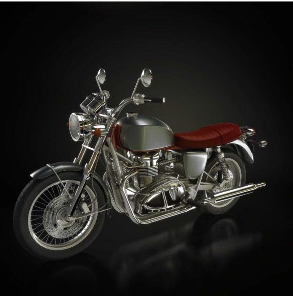010-3d Models-Motorbikes
