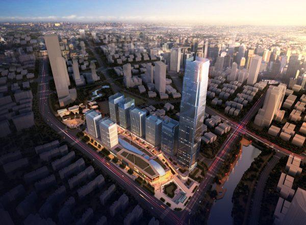 010-Exterior Scenes-High-Rise Buildings-Complex