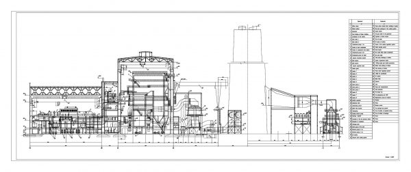010-Thermal_Power_Station_Of_1000mw-Cad-Blocks