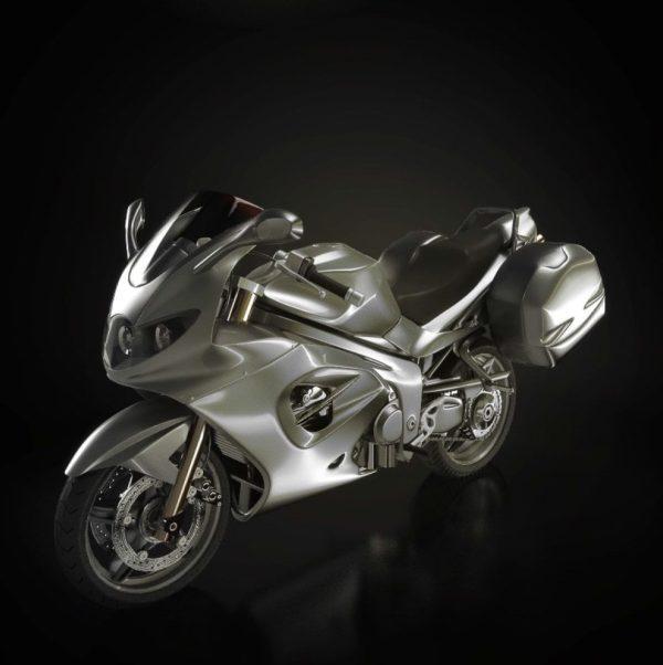 Motorbike 3d Model 011