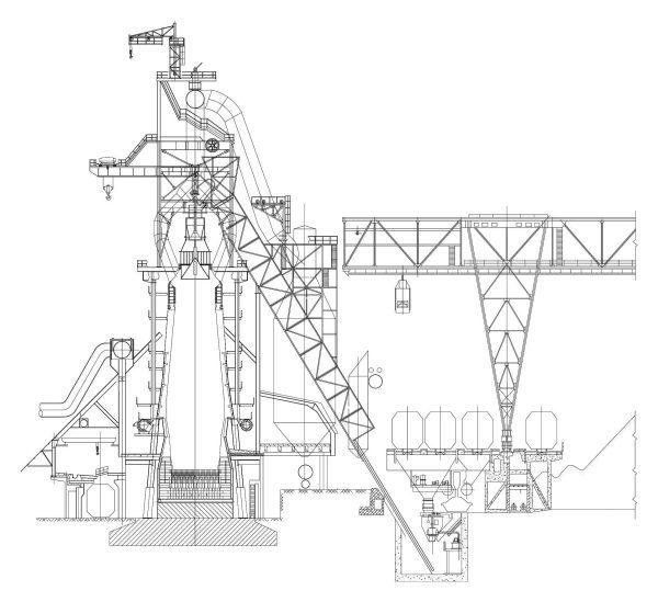 012-Blast_Furnace-Cad-Blocks