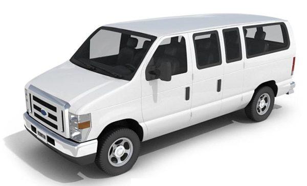 014- 3d Models-Van