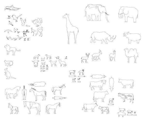 014-Animals_1-Cad-Blocks